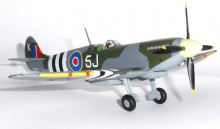 Spitfire MK IXC RAF Royal Air Force 126 Sqdn Model Scale 1:72 JCW72SPF001 P